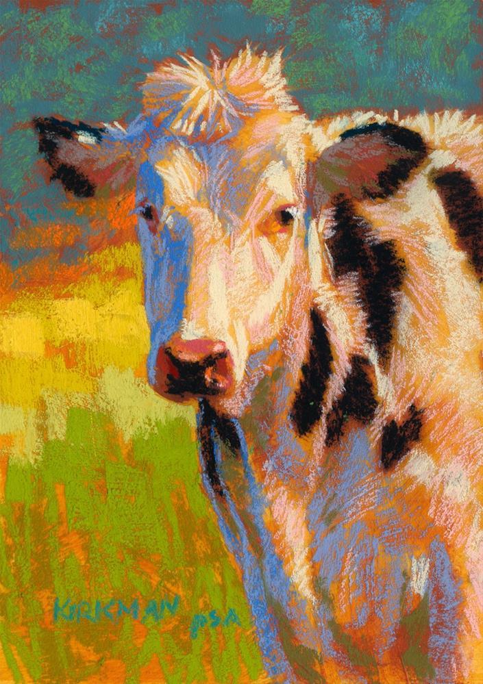 """Polka"" original fine art by Rita Kirkman"