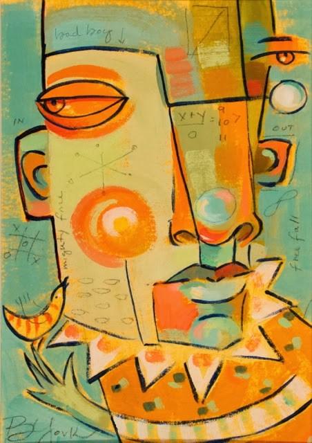 """Lost. And Found."" original fine art by Brenda York"