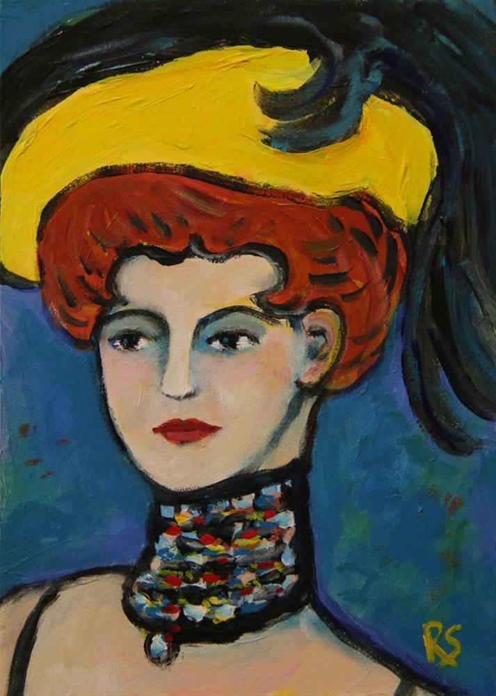 """""""Paris, 1901"""" original fine art by Roberta Schmidt ArtcyLucy"""
