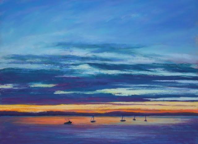 """""""Safe Harbor"""" original fine art by Sharon Lewis"""