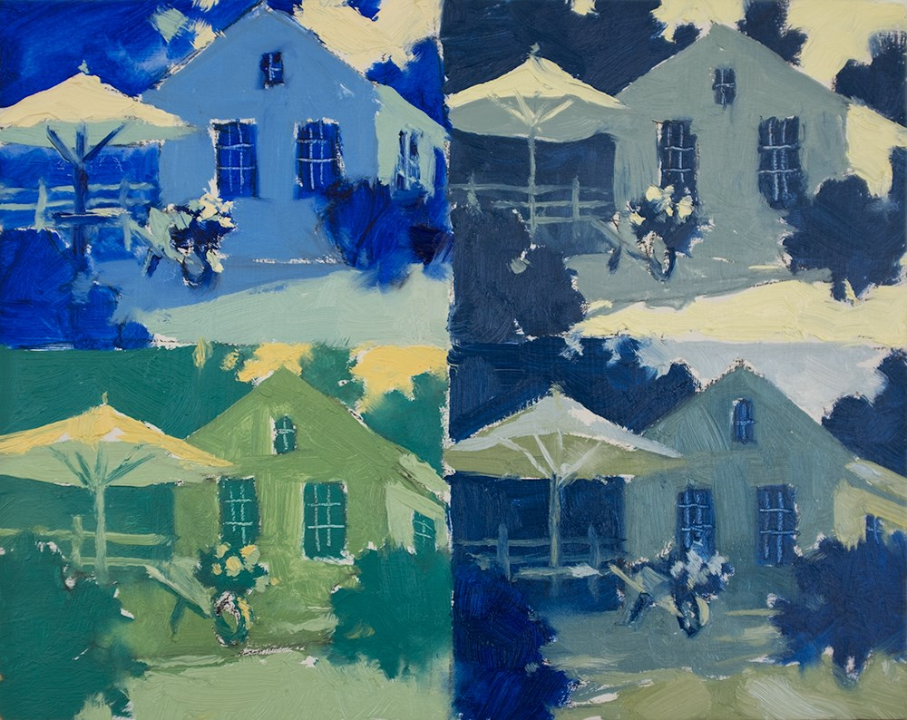 """""""Quadro Cabanas"""" original fine art by Todd Zuithof"""