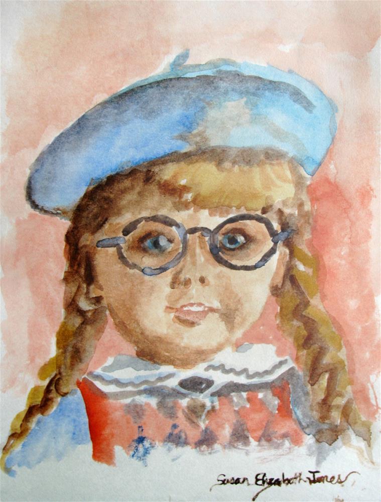 """""""Molly"""" original fine art by Susan Elizabeth Jones"""