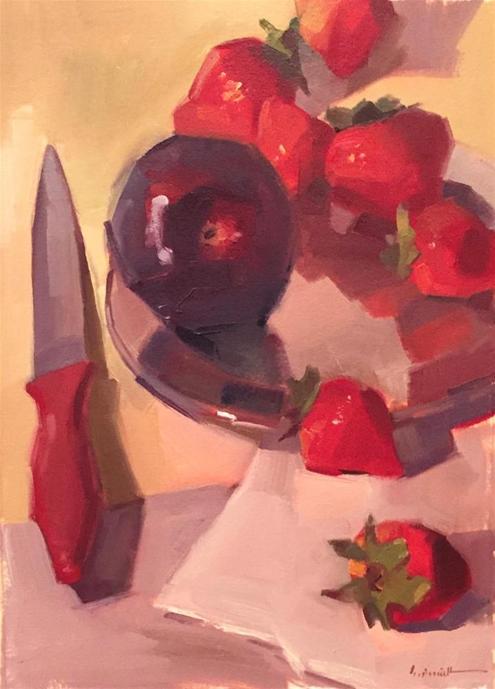 """The Red Snake"" original fine art by Sarah Sedwick"