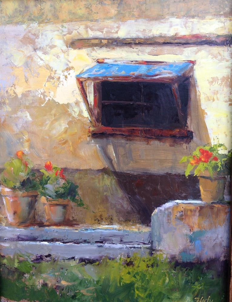 """Sunny Afternoon"" original fine art by Barbara Fluty"