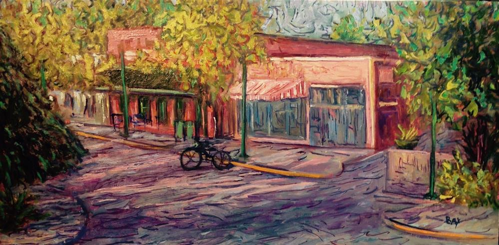 """Morning in Five Points"" original fine art by barbara yongue"