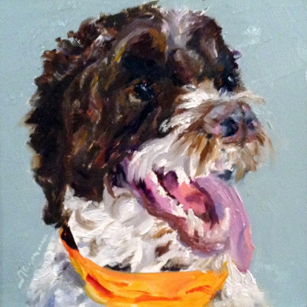 """A Big Smile"" original fine art by Shelley Koopmann"