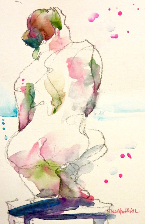 """parallels"" original fine art by Nora MacPhail"
