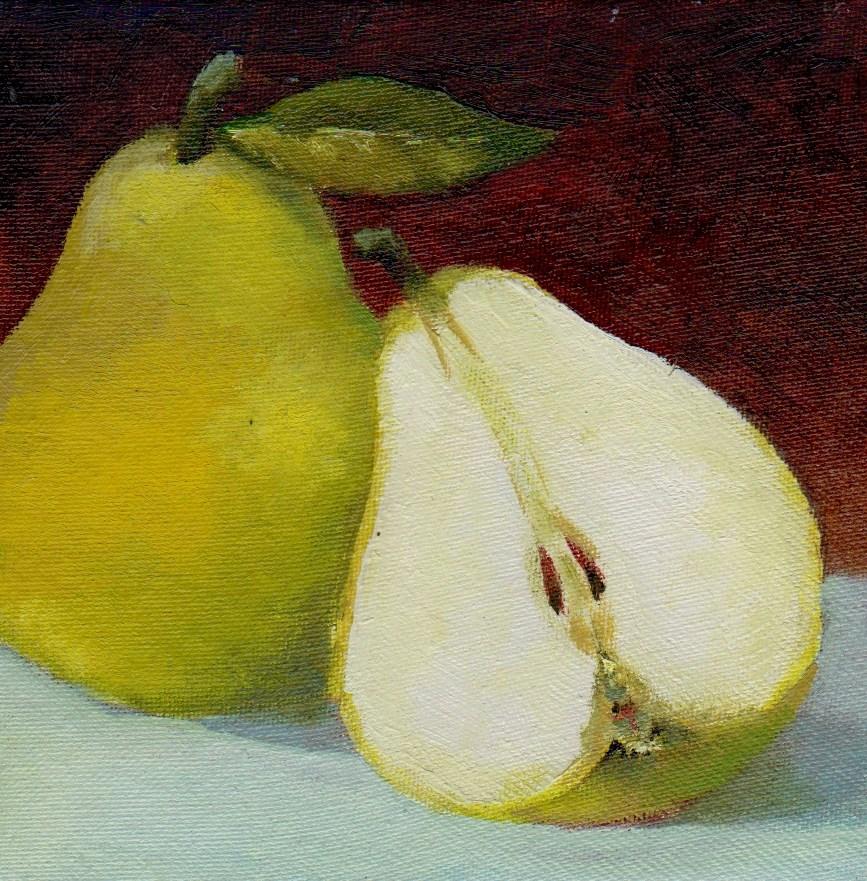 """one and half"" original fine art by Mark DeBak"