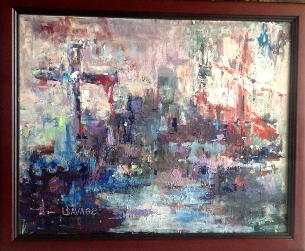 """Hope after Shipwreck"" original fine art by Judy Usavage"