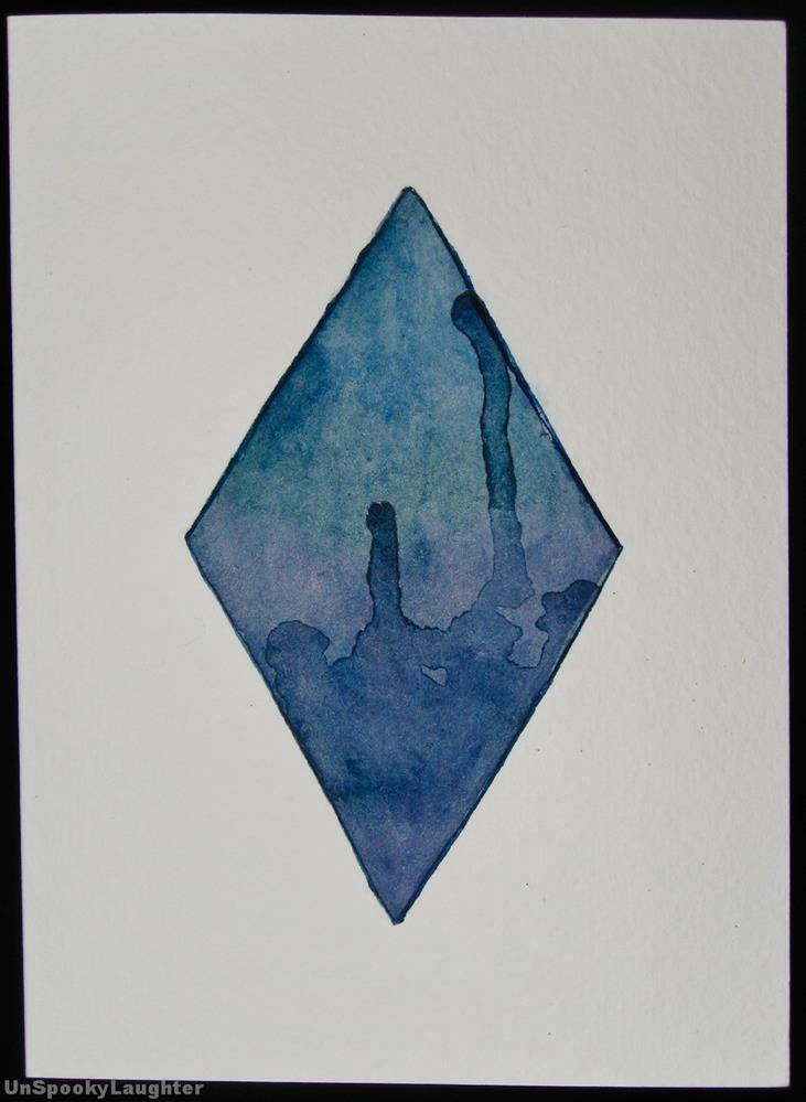 """""""Daily Card #31"""" original fine art by A.E.E. Miller"""