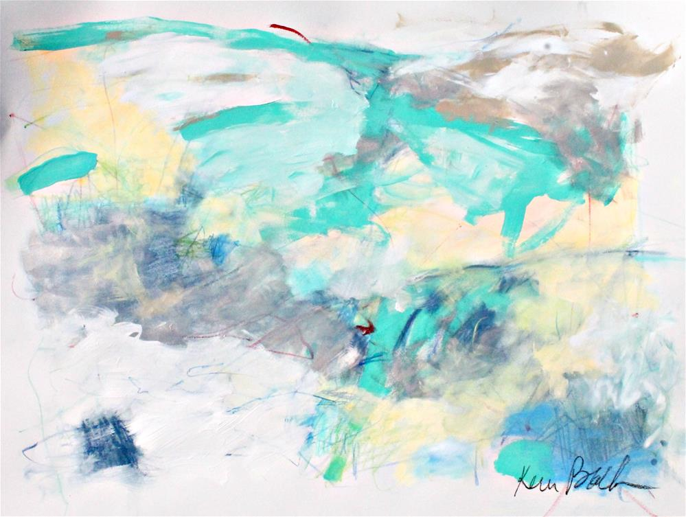 """Light and Airy"" original fine art by Kerri Blackman"