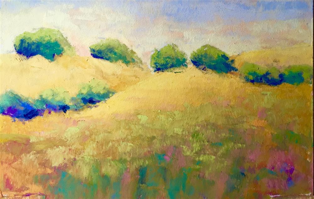 """California  Dreaming 3"" original fine art by Sandi Miller"