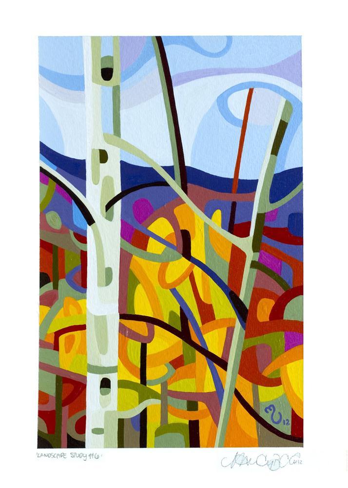 """Landscape Study #6"" original fine art by Mandy Budan"