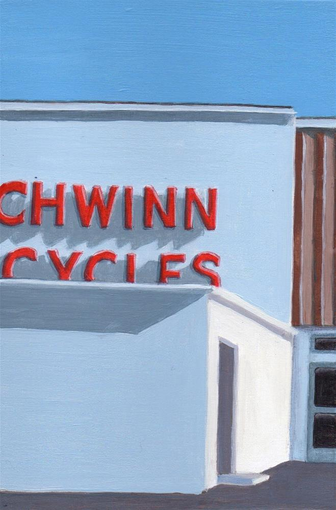 """Cycles"" original fine art by Debbie Shirley"