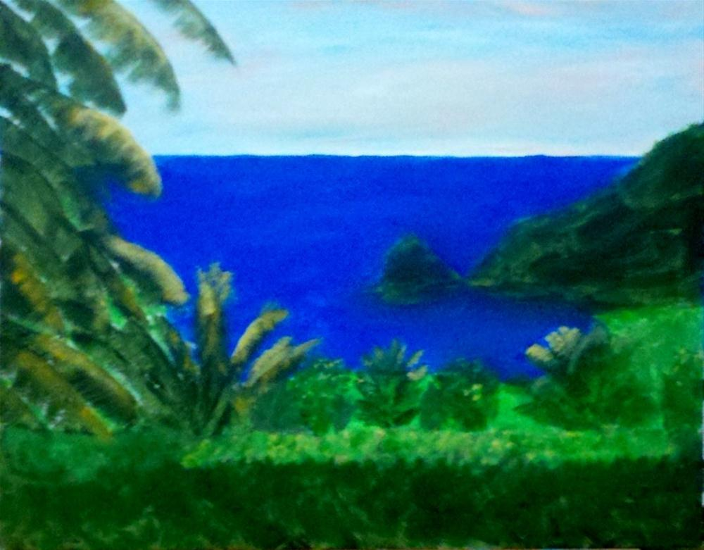 """View from the Hammock!"" original fine art by Brenda Smith"