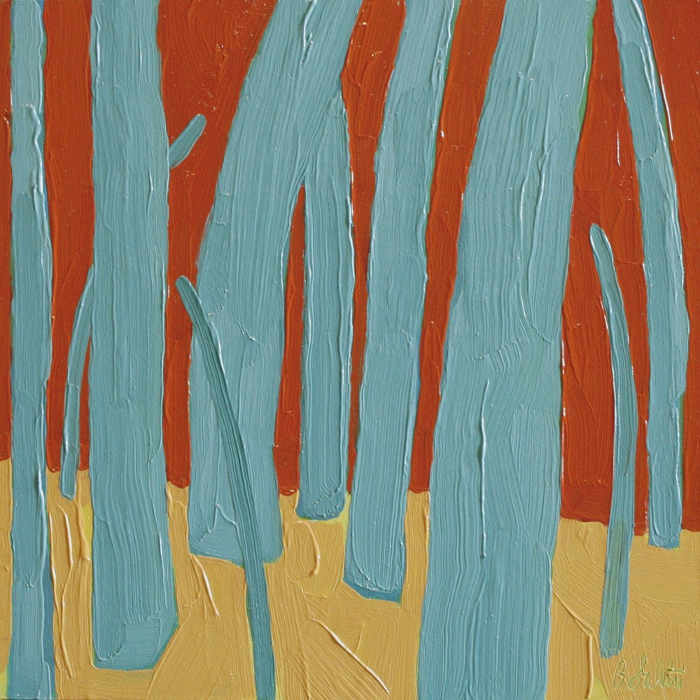 """""""trees without leaves III - variation 11"""" original fine art by Barb Saletri"""