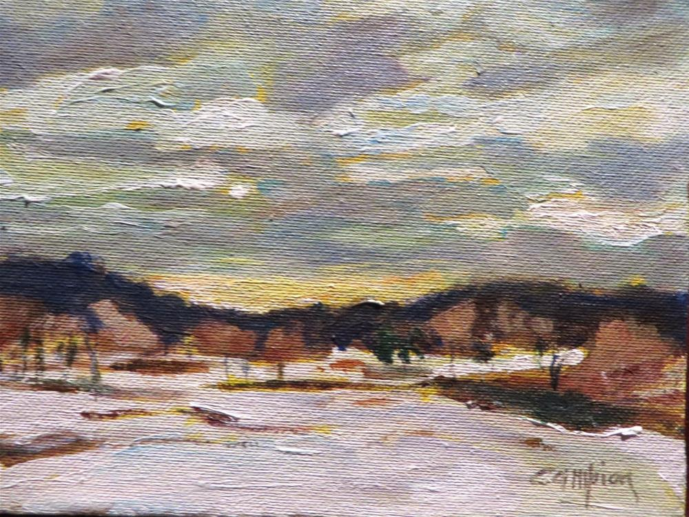 """""""576 Back Road, Plymouth, MA"""" original fine art by Diane Campion"""