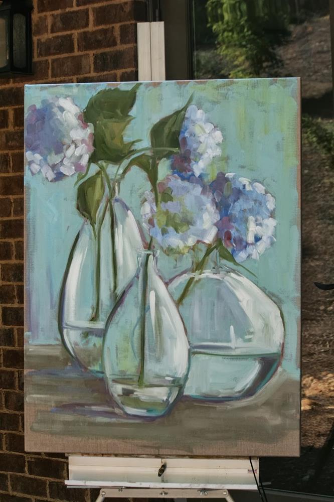 """trio"" original fine art by Carol Carmichael"
