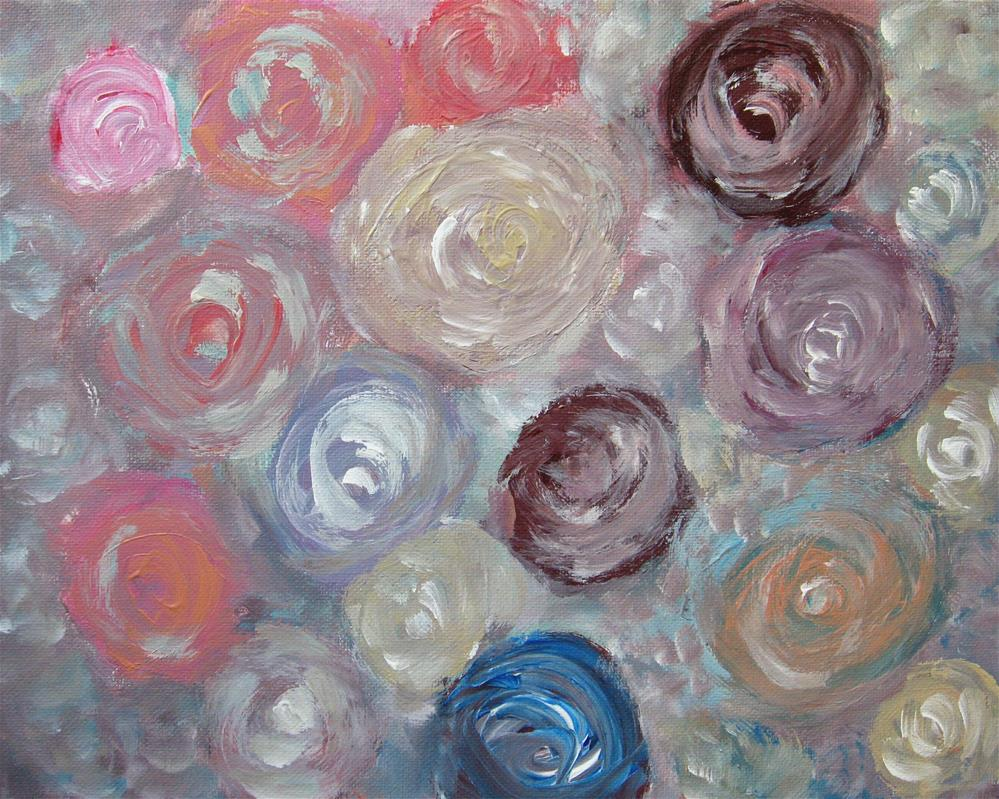 """Roses For You"" original fine art by Alina Frent"