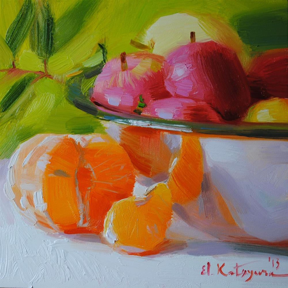 """We Are All Fruit"" original fine art by Elena Katsyura"