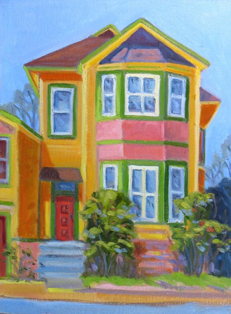 """A Painted House"" original fine art by Rhett Regina Owings"