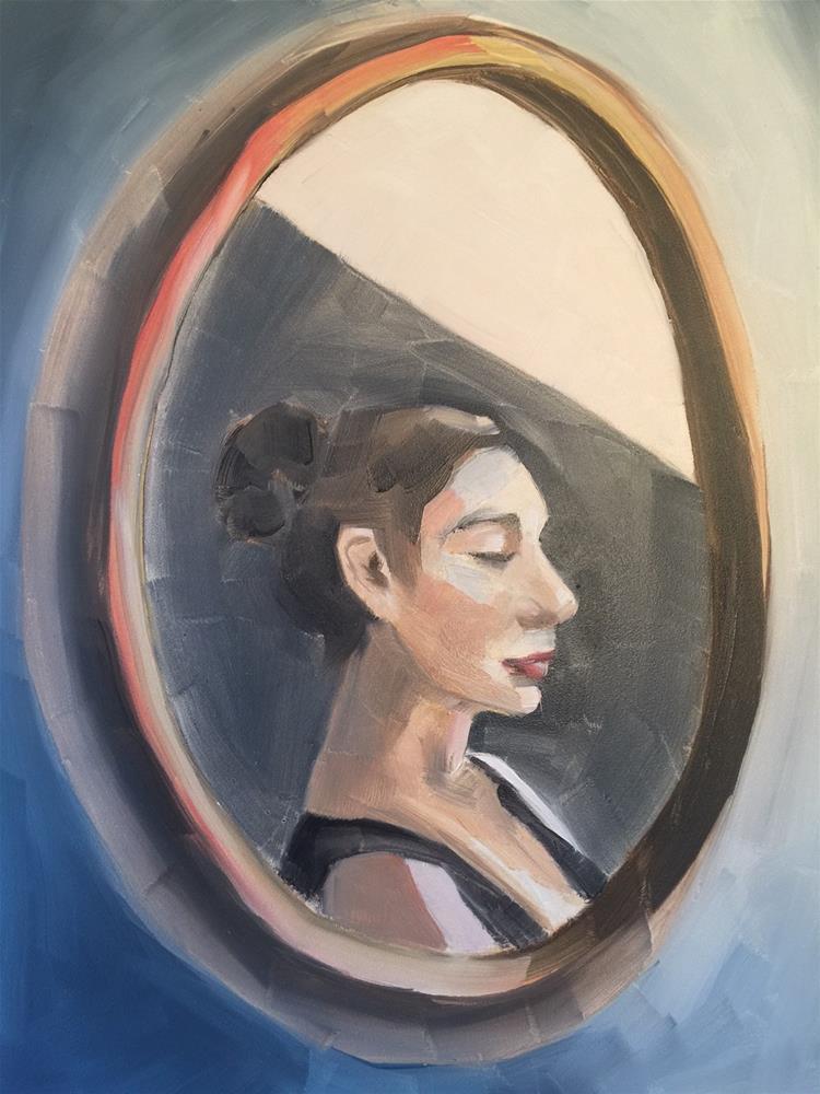 """378 Cameo"" original fine art by Jenny Doh"