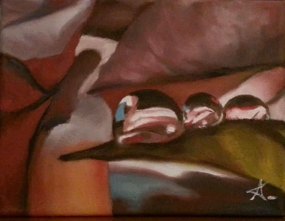 """drop line 73"" original fine art by Konstantia Karletsa"