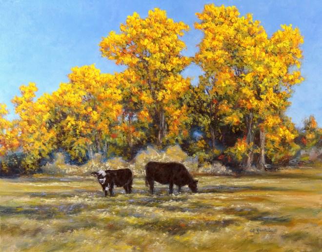 """""""Fall Feast"""" original fine art by Carol Zirkle"""