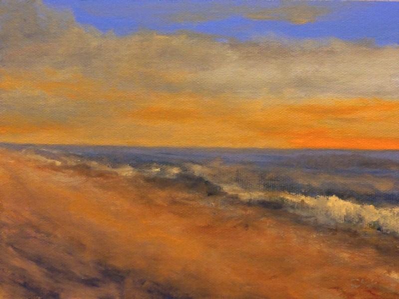"""Hawaiian Sunrise"" original fine art by Dalan Wells"