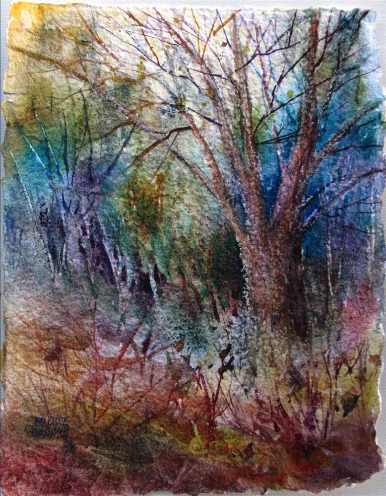 """Sleeping Woods"" original fine art by Melissa Gannon"
