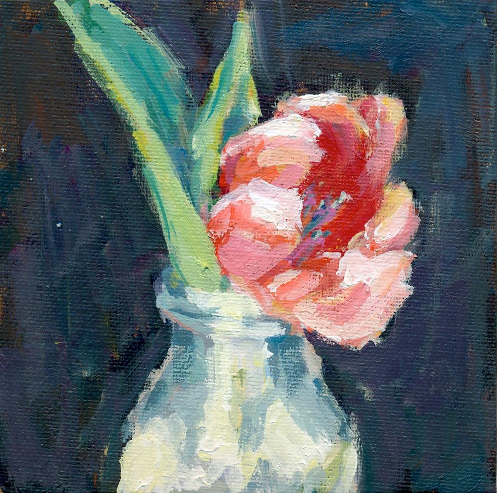 """""""DPW challenge tulip"""" original fine art by Shelley Garries"""