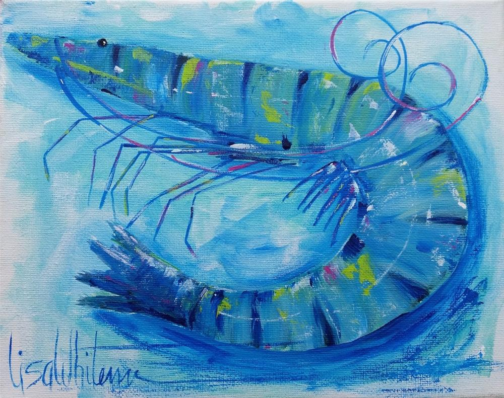"""41 - True Colors"" original fine art by Lisa Rogers"