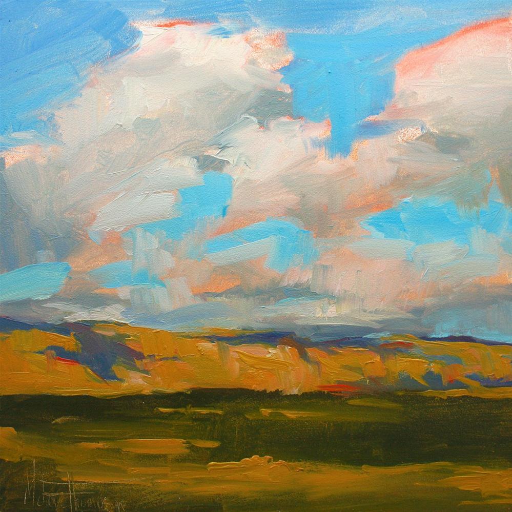 """Under a Southwest Sky II"" original fine art by Melanie Thompson"