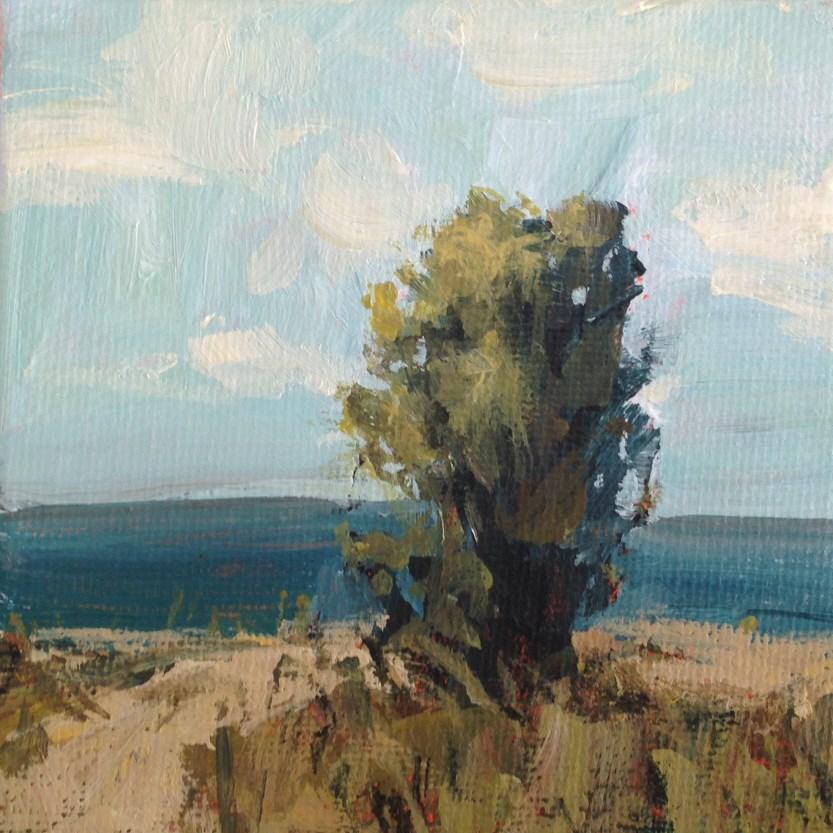 """""""September Beach"""" original fine art by Shannon Bauer"""