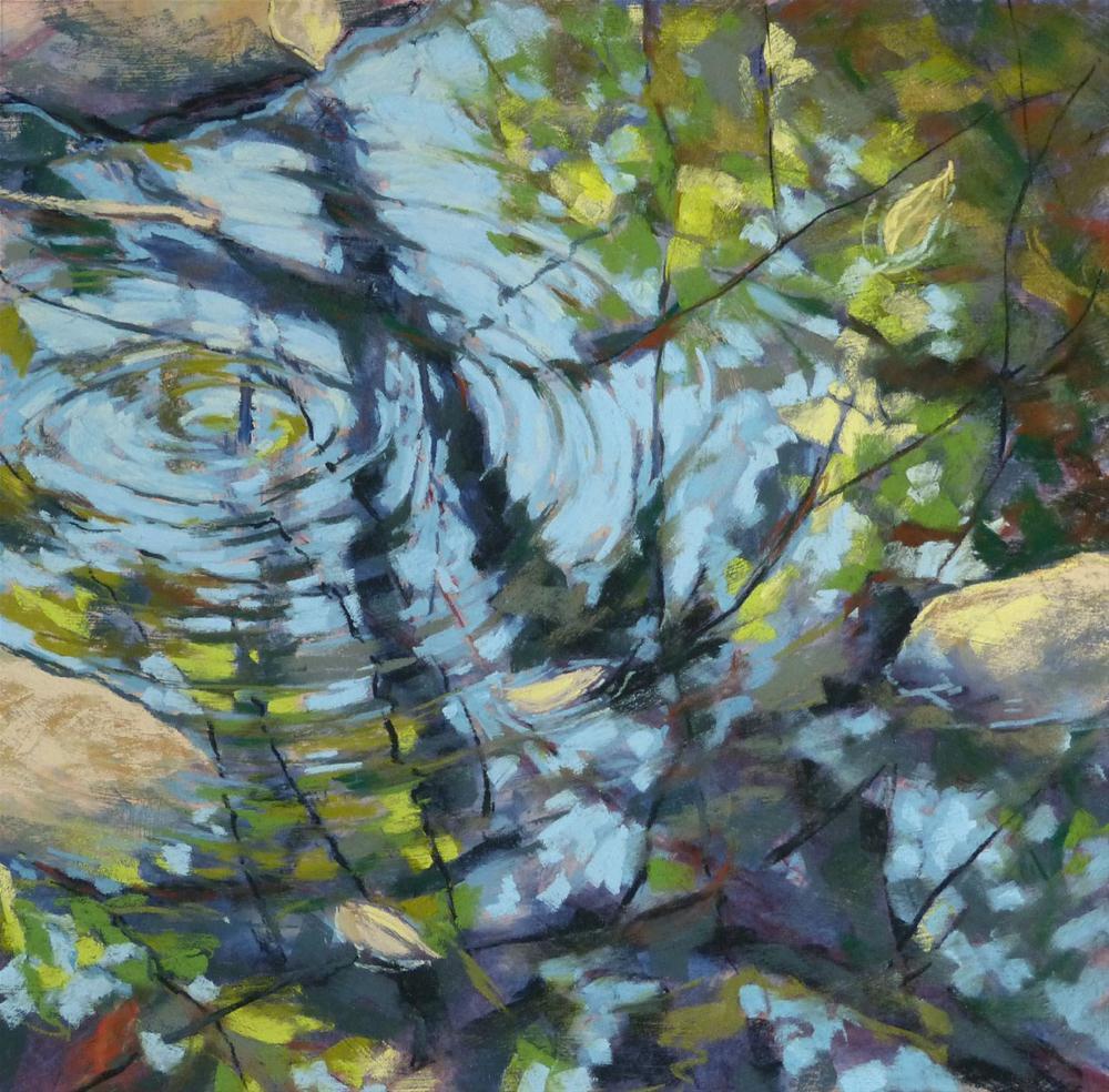 """""""Reflection Interrupted"""" original fine art by Rita Kirkman"""