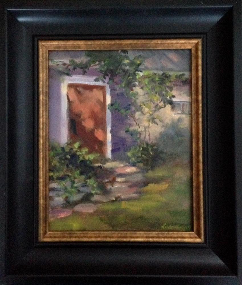 """The Sanctuary"" original fine art by Linda Carney"
