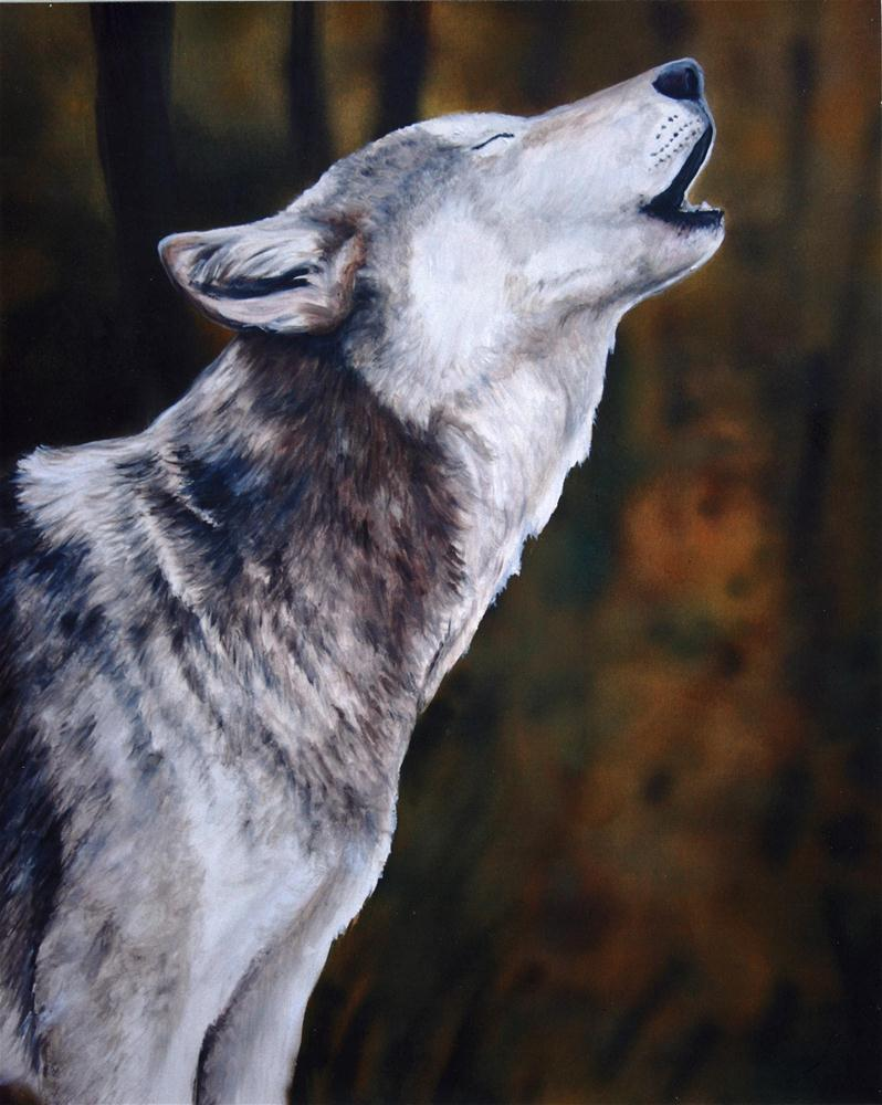 """""""Call of the Wild"""" original fine art by Charlotte Yealey"""