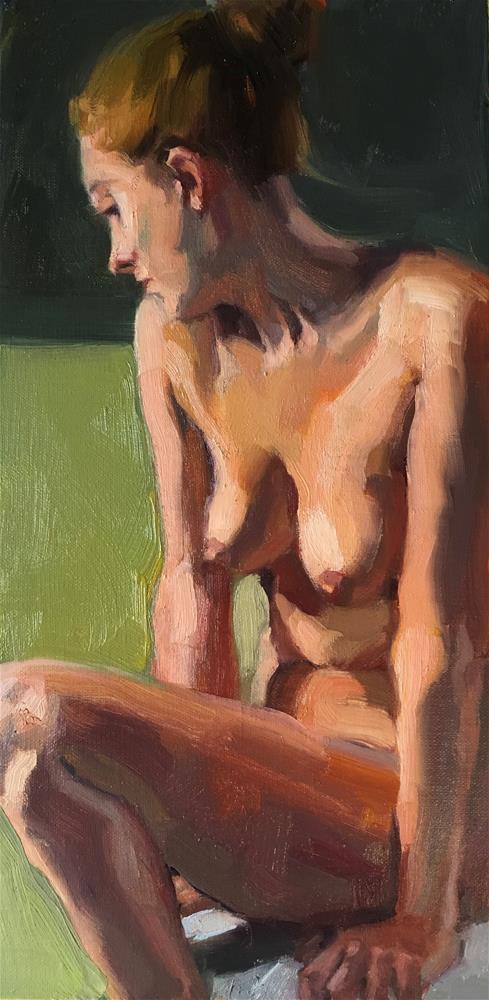 """CroquisCafe25"" original fine art by Katya Minkina"