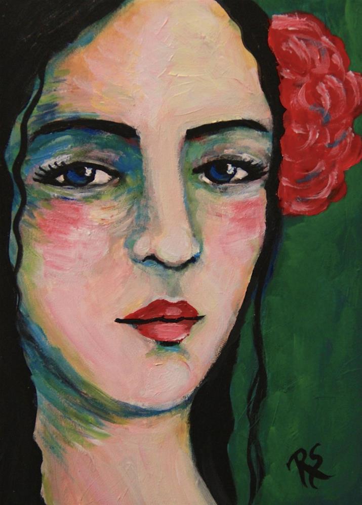 """""""In Her Eyes"""" original fine art by Roberta Schmidt"""