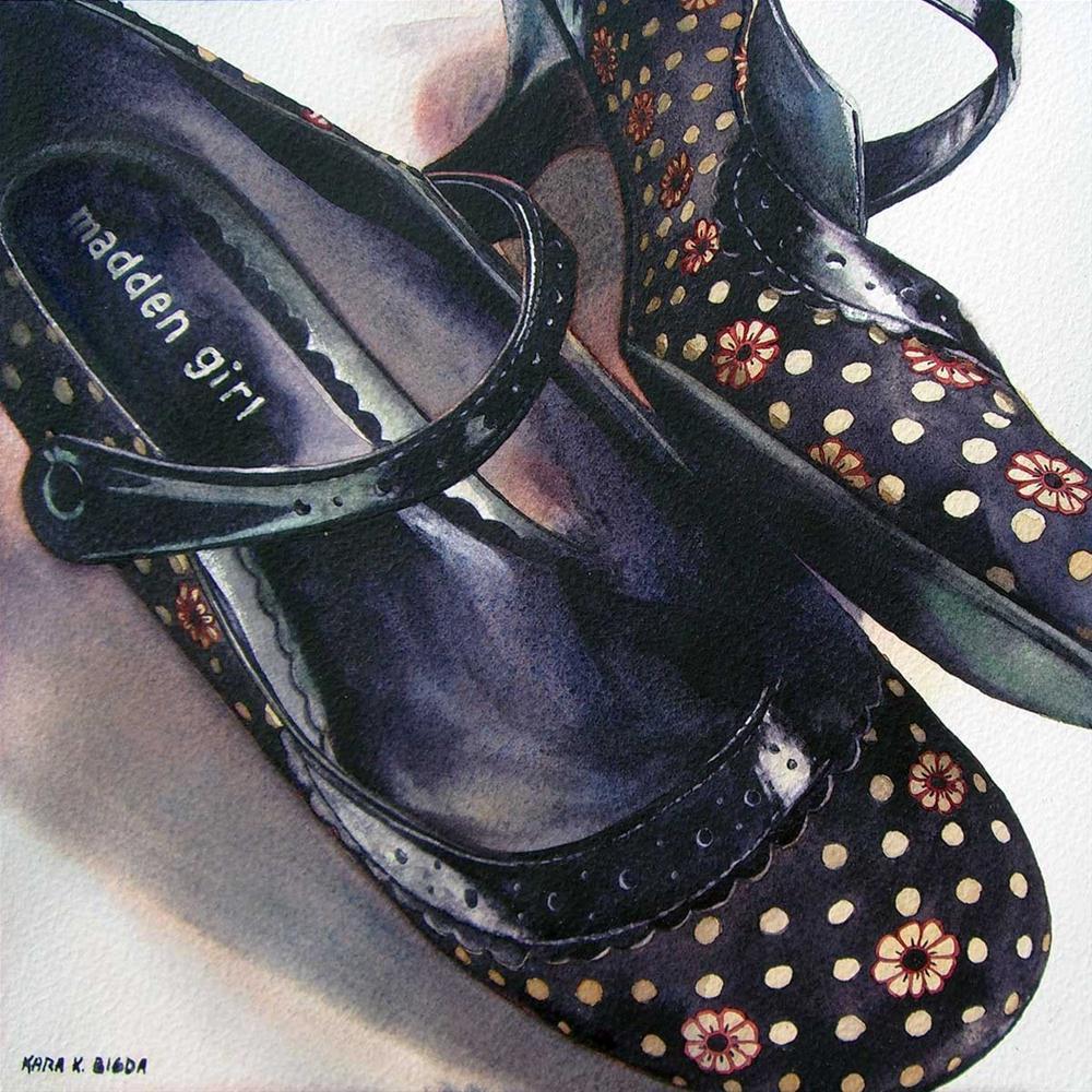 """Madden Girls"" original fine art by Kara K. Bigda"