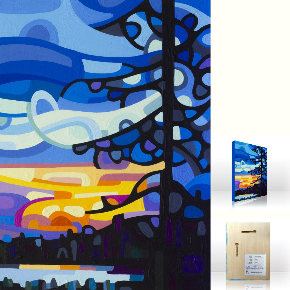 """Landscape Study #83"" original fine art by Mandy Budan"