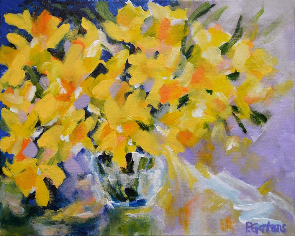 """""""The Golden Hour"""" original fine art by Pamela Gatens"""