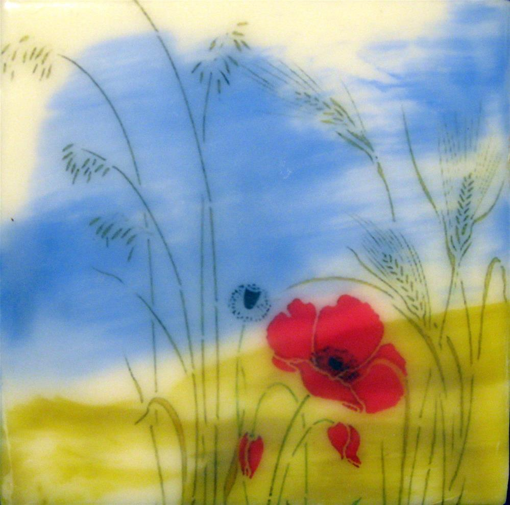 """""""Simplicity"""" original fine art by Danielle M. Le  Bris"""