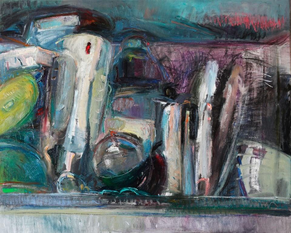 """""""Kitchen Still Life"""" original fine art by Anna Fine Art"""