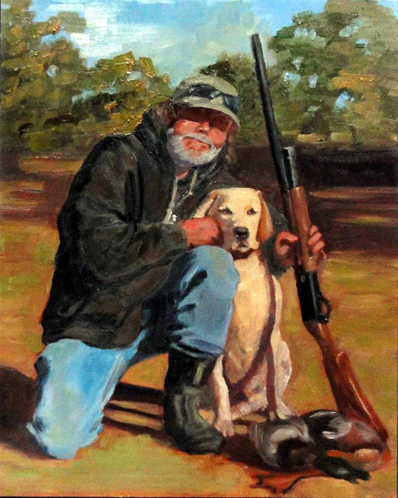 """Good Hunters"" original fine art by Cietha Wilson"