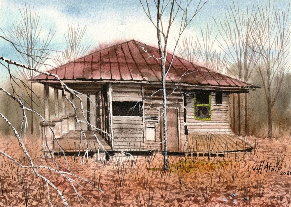 """Abandoned"" original fine art by Jeff Atnip"