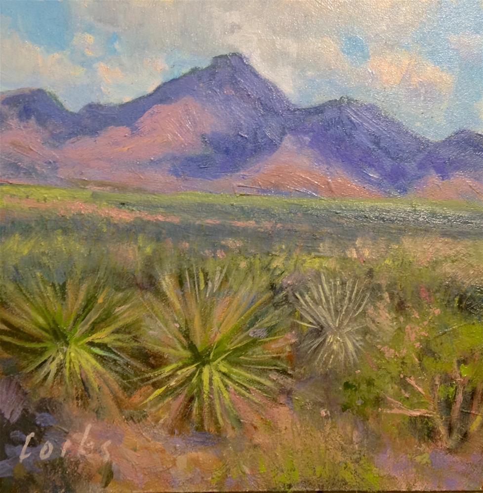 """Chisos"" original fine art by David Forks"