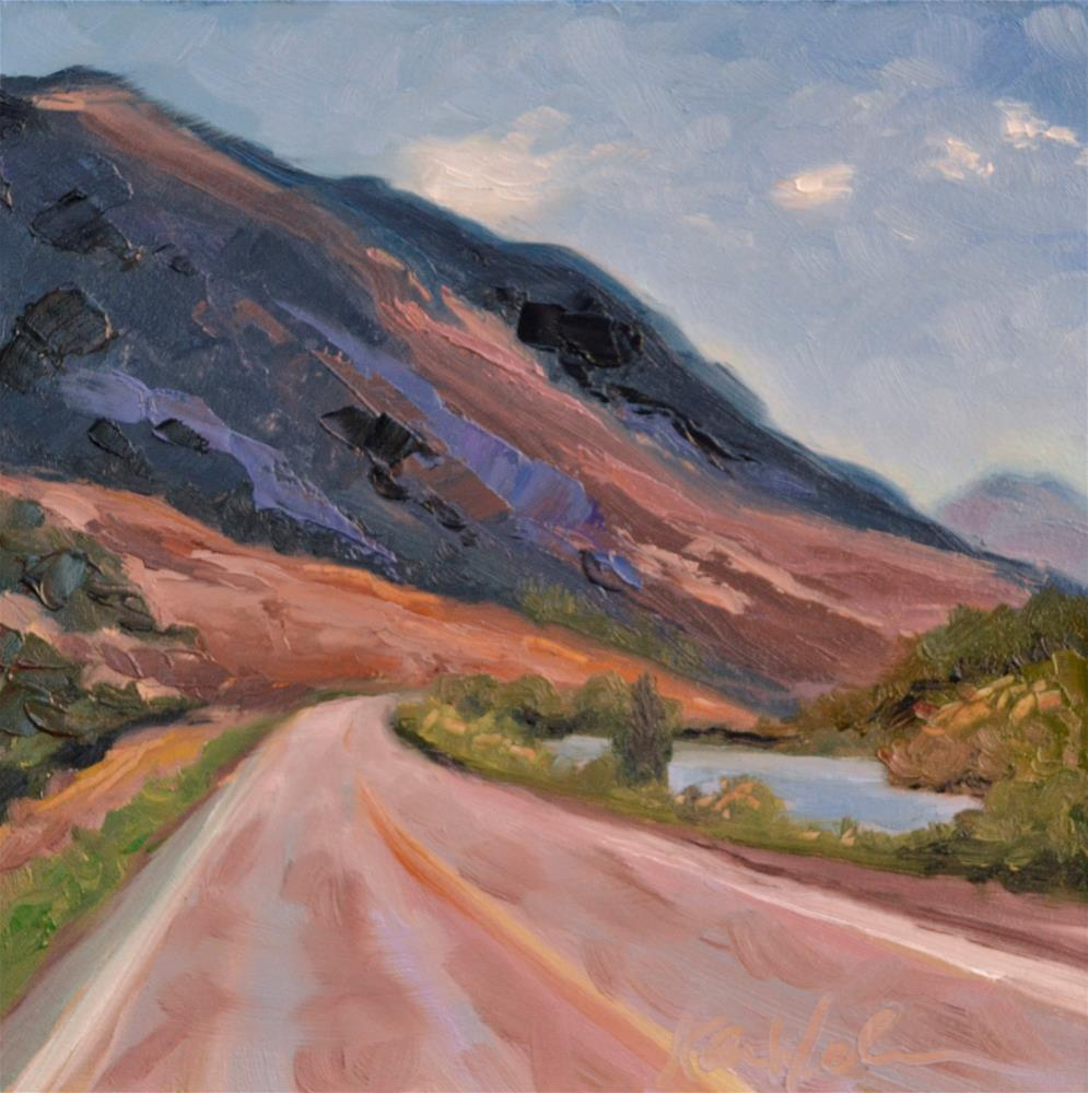 """Jerome, Idaho"" original fine art by Karen Weber"