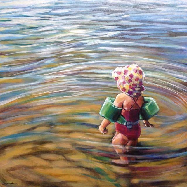 """""""Grace"""" original fine art by Angela Hardy"""