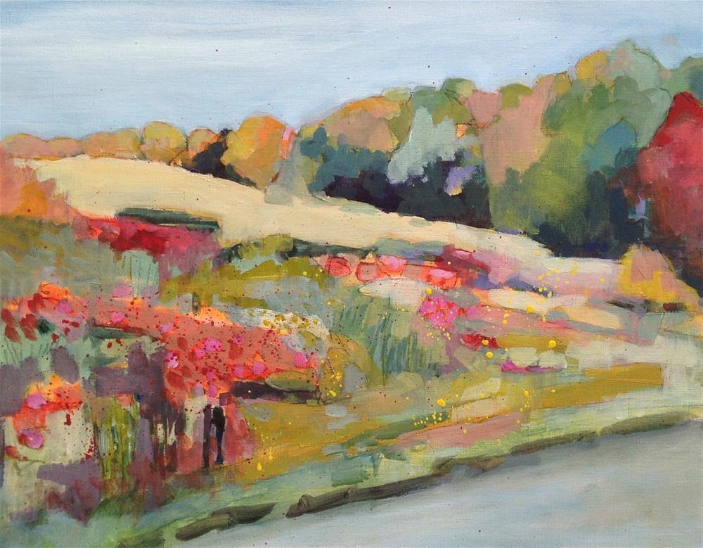 """Klondike Road Meadow (Haliburton)"" original fine art by Patricia MacDonald"